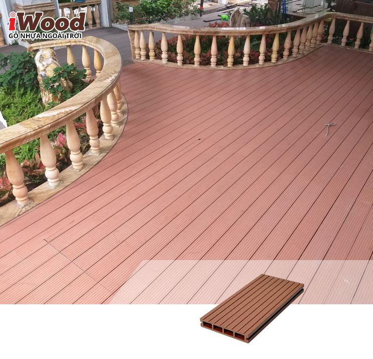 iWood lót sàn HD140x25-4S Red brown 3