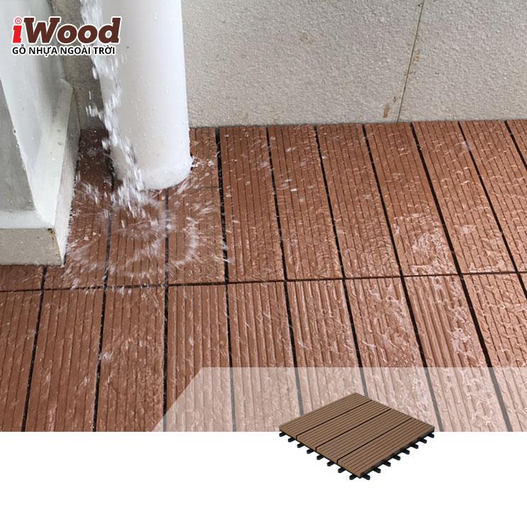thi công vỉ gỗ iWood DT300x300 Wood 3