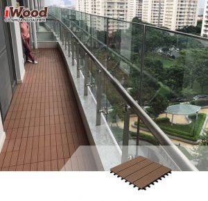 thi công vỉ gỗ nhựa iWood Dt300x300 1