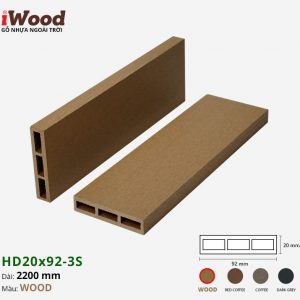 thanh lam iWood HD20x92-3S Wood 1