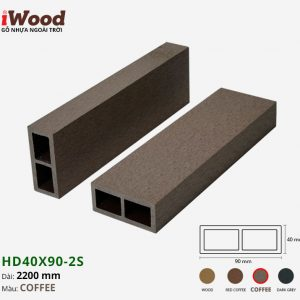 thanh lam iWood HD40x90-2S Coffee 1