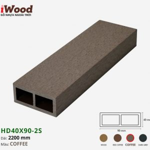 thanh lam iWood HD40x90-2S Coffee