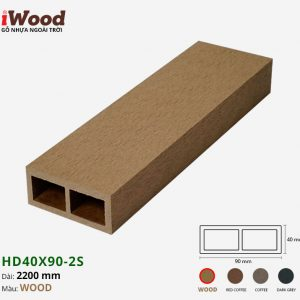 thanh lam iWood Hd40x90-2s Wood