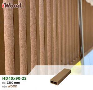 thi công iwood hd40x90-s2-wood 2