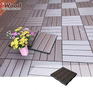 thi công vỉ gỗ nhựa iWood Vn300 Coffee 1