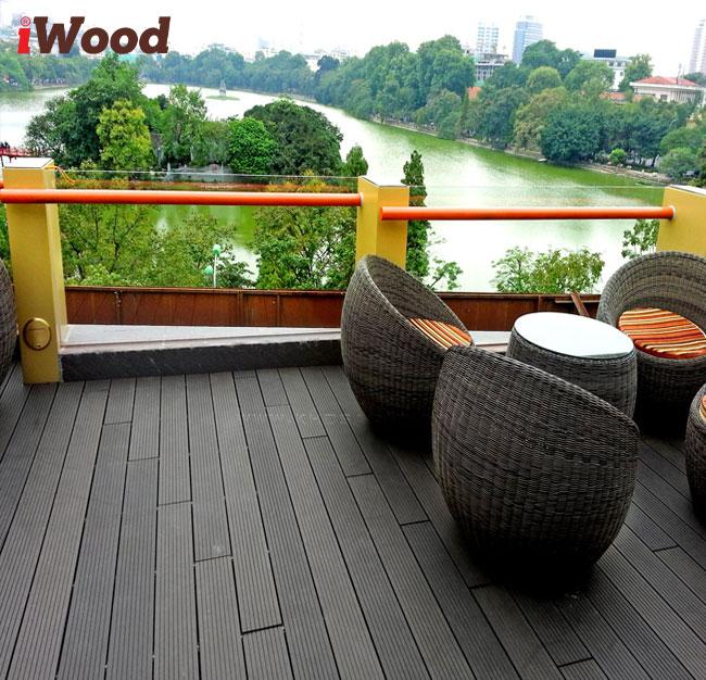 sàn gỗ sân vườn iwood