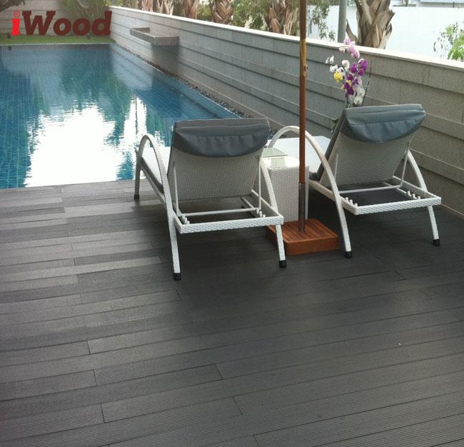 sàn gỗ nhựa ngoài trời iwood