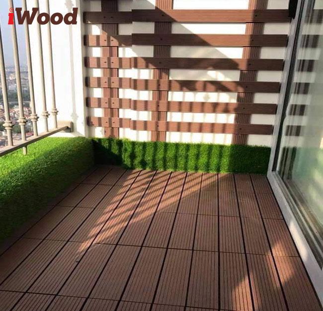 vỉ gỗ nhựa ngoài trời iwood