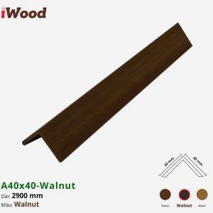 iwood phụ kiện a40x40-walnut 1