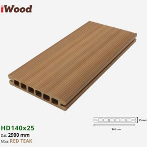 iwood hd140x25-red-teak-1