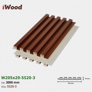 iWood W205x20-5S20-3 hình 2