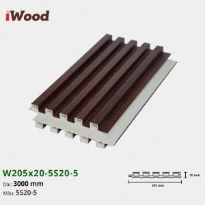iWood W205x20-5S20-5 hình 2