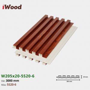 iWood W205x20-5S20-6 hình 2