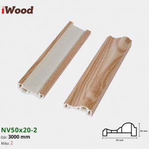 Nẹp viên iwood NV50-20