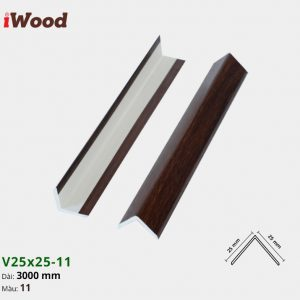 iWood nẹp V25x25-11