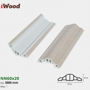 iWood nẹp viền NN60x20-1