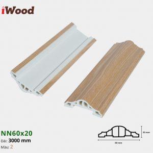 iWood nẹp viền NN60x20-2
