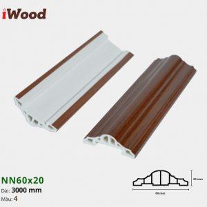 iWood nẹp viền NN60x20-4