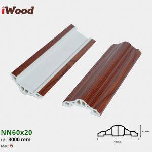iWood nẹp viền NN60x20-6