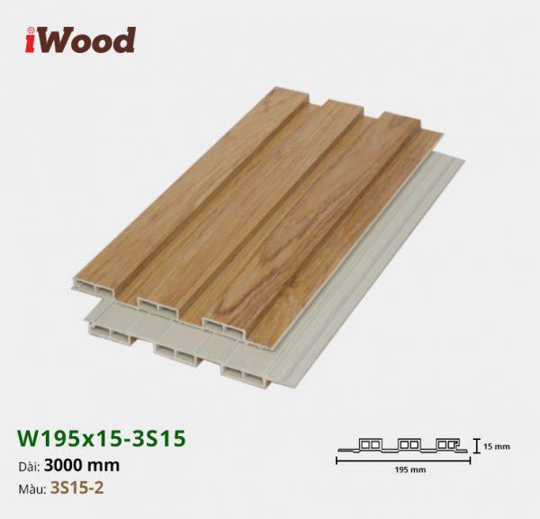 iWood W195x15-3s15-2 hình 2