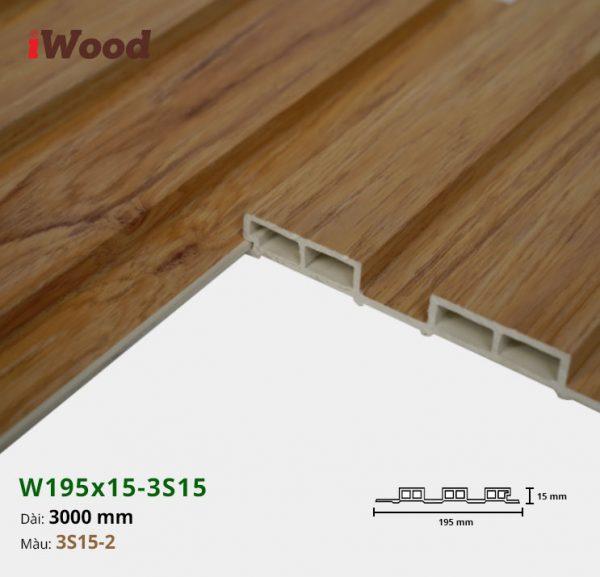 iWood W195x15-3s15-2 hình 3