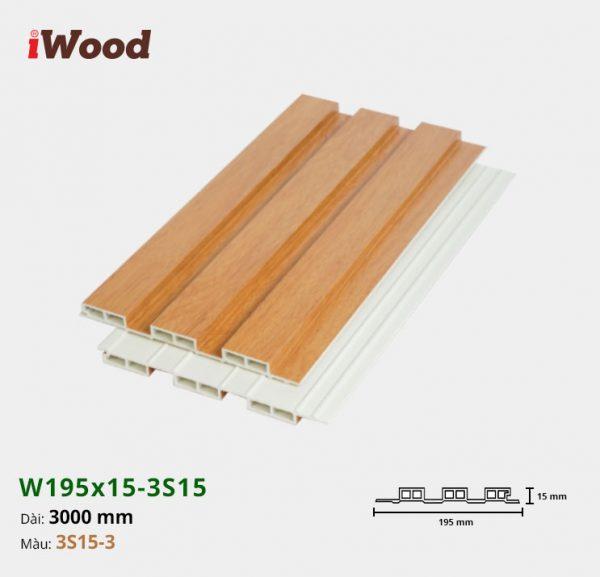 iWood W195x15-3s15-3 hình 2