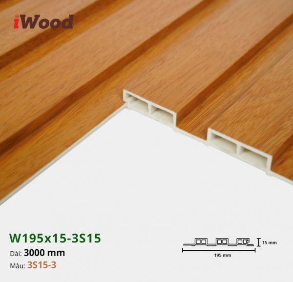 iWood W195x15-3s15-3 hình 3