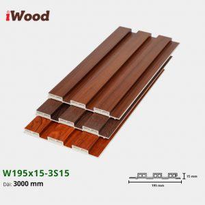 iWood W195x15-3s15 hình 1