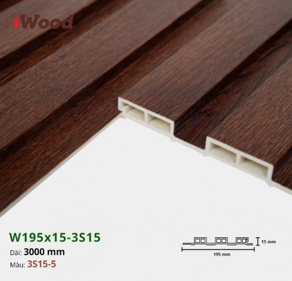 iWood W195x15-3s15-5 hình 3