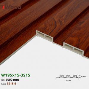 iWood W195x15-3s15-6 hình 3