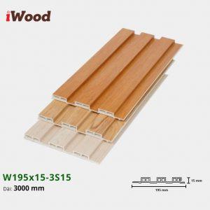 iWood W195x15-3s15 hình 2
