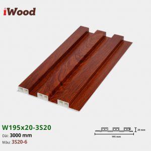 iwood-w195-20-3s20-6 hình 1
