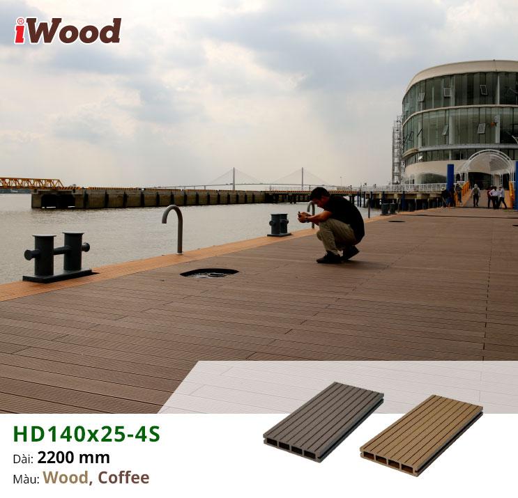 sàn gỗ HD140x25-4S hình 14