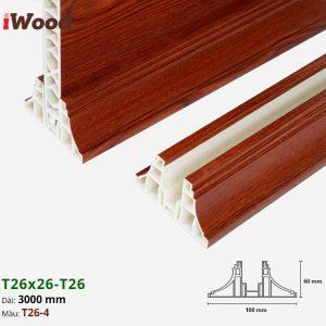 Nẹp T26 vách ngăn iwood