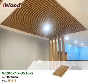Tấm ốp 3D lam sóng iWood