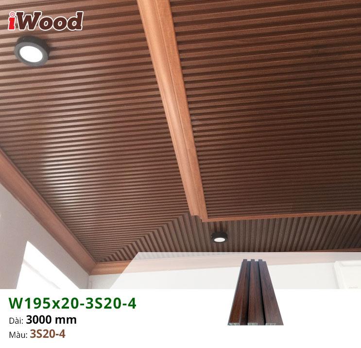 thi công iWood W195x20-3S20