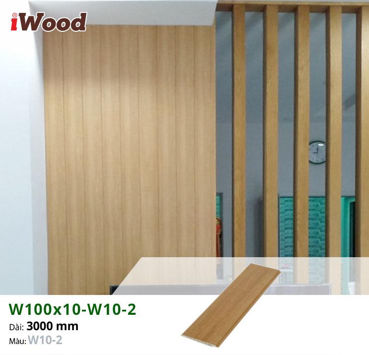 Thi công tấm ốp tường iWood W100x10-W10-2 thi công tại quận 6