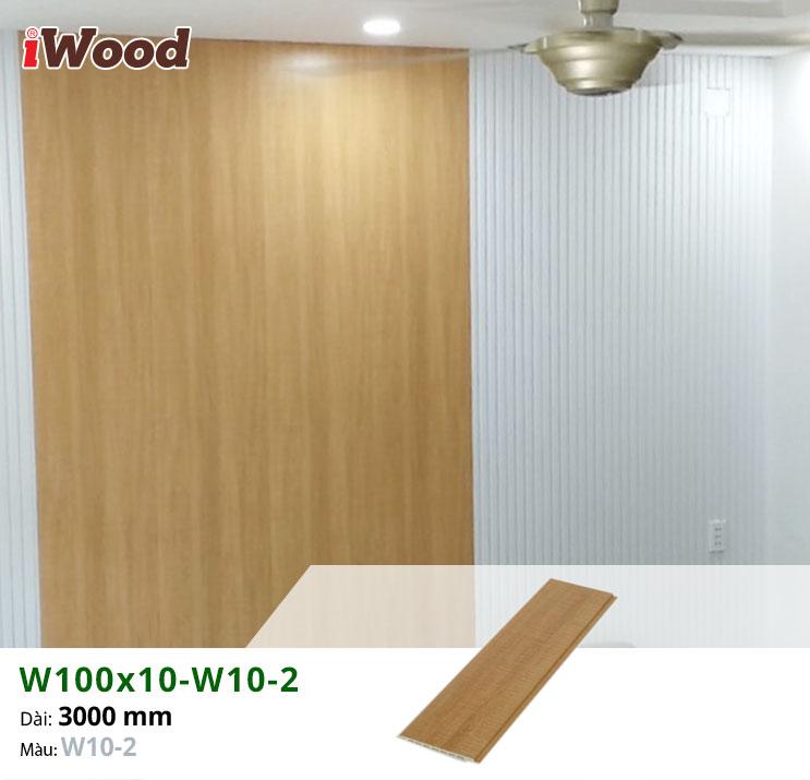 Thi công tấm ốp tường iWood W100x10-W10-2 tại quận 6