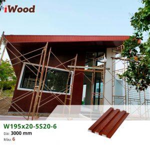 iWood W195x20-5S20-6